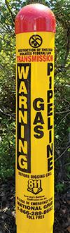 Pipeline marker